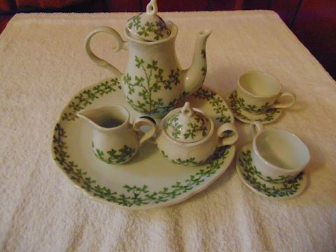 Belleek Reproduction Tea Set