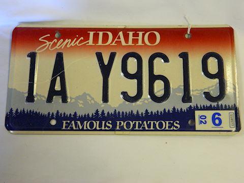 2002 ID plate