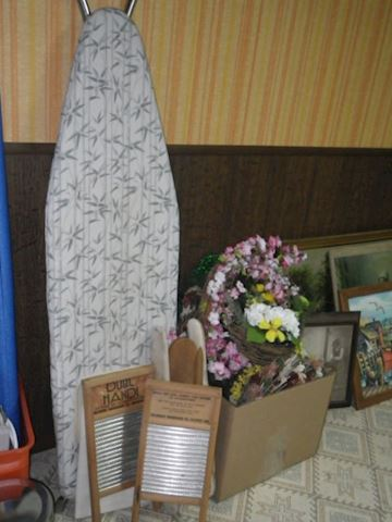 Ironing Board and Small Washboards