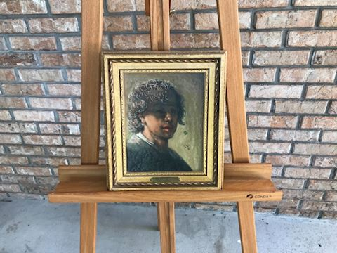 Rembrandt circa 1628 Reproduction by Lou Roussano