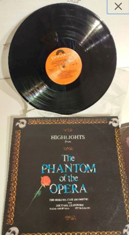 Album Vinyl Phantom Of The Opera
