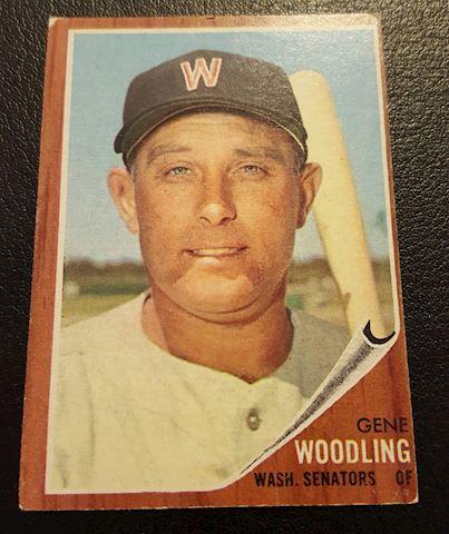 Vintage 1962 Gene Woodling Baseball Card #125