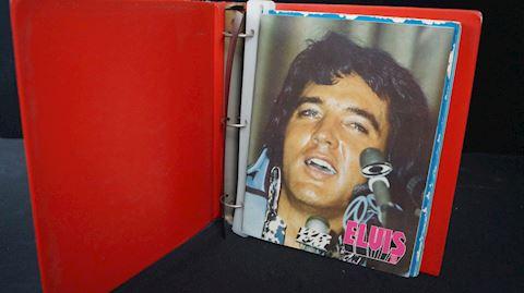 Lot #72 Elvis Presley Memorabilia Binders
