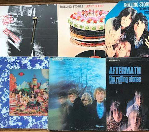16 Rolling Stones Albums