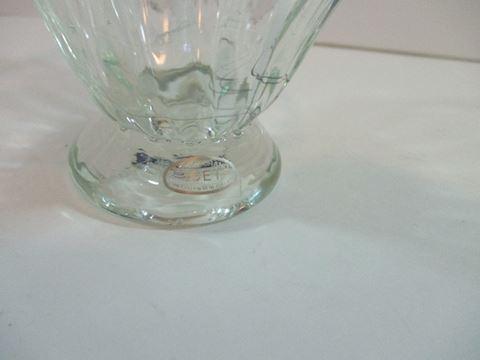 Vintage Signed Murano Glass Basket