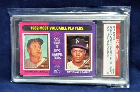 Micky Mantle & Maury Wills Most Valuable Players