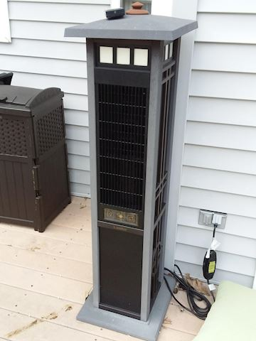 Electric Lasko Outdoor Patio Heater with Remote