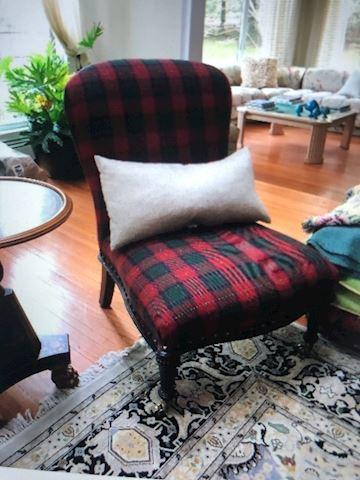 Two Ralph Lauren chairs