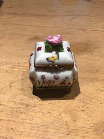 "Limoges France Rochard ""Hidden"" Perfume Box"
