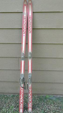 Red Hagan Skis Lot # 165