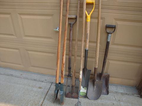 Lot of 7 garden tools lot #43