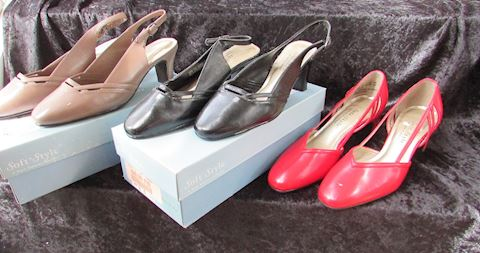 Soft Style Hush Puppy Pumps - Lot of 3 pair