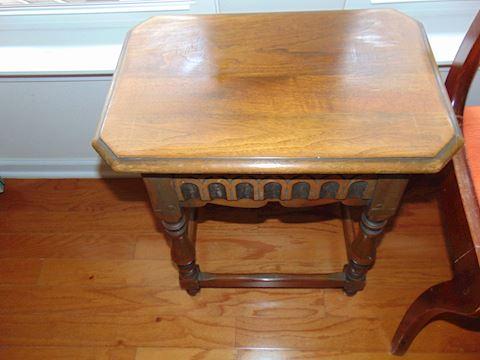 Vintage Oak Hall Table