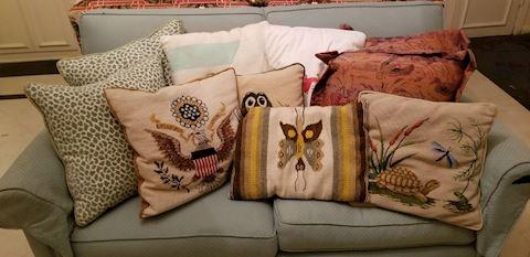 Fam   304   Assorted Pillows