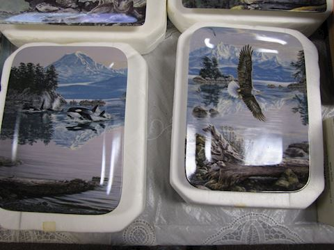 Collector Plates - Wildlife Scenery