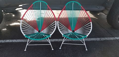 Pair of Innit chairs mid century design