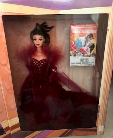 Barbie as Scarlett O'Hara - Red Dress