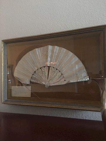 Great Grandmother's Wedding Fan