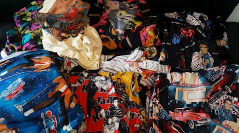 Lot #151 Custom Made Elvis Presley Shirts