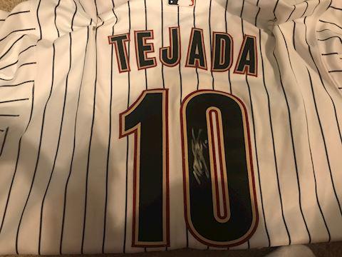 Miguel Tejada autographed Houston Astros Jersey
