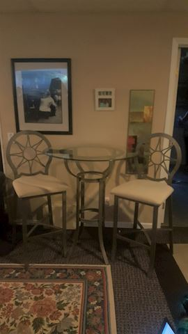 423051 Bistro Table & 2 Chairs