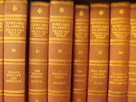 Harvard Classics 5' Bookshelf Complete 51 volume