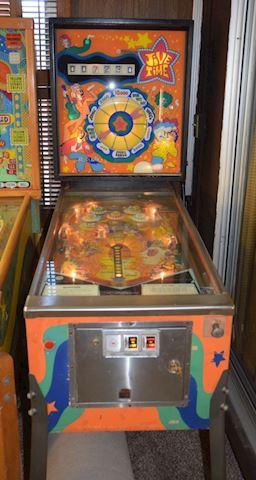 Original Vintage 1970 JIVE TIME Pinball Machine
