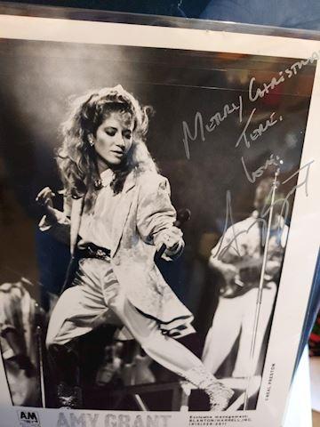 Amy Grant Autograph