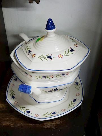 Soup Tureen Server Bowl