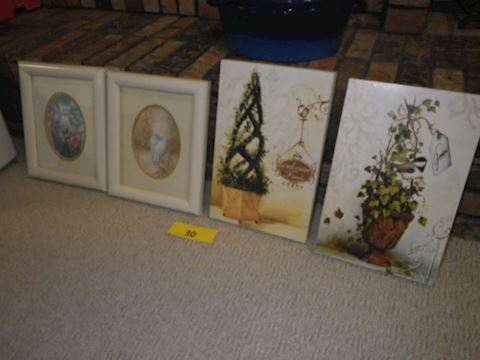 4 Pieces of Art (Lot #30)