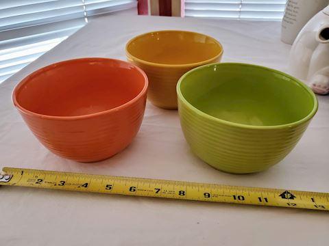 Royal Norfolk Bowls Set Of 3