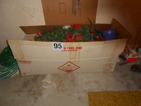 Lot # 95 Large Christmas tree