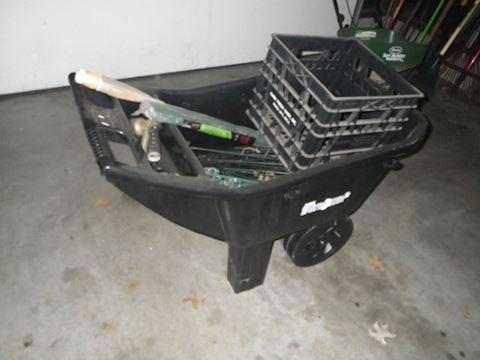 Ames Easy Roller Junior Wheelbarrow