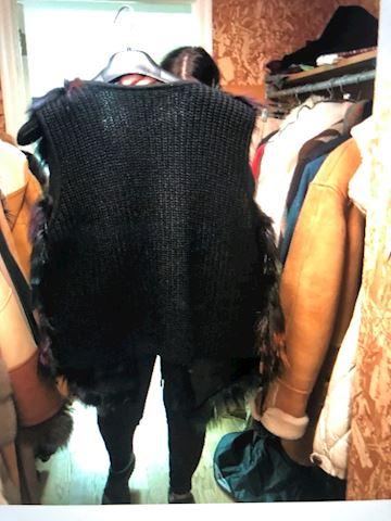 Multi Color Fur Vest by Alberto Makali