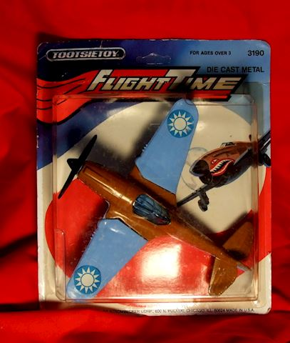 TOOTSIE TOY 3190 FLYING TIGER  MANUFACTURED 1982