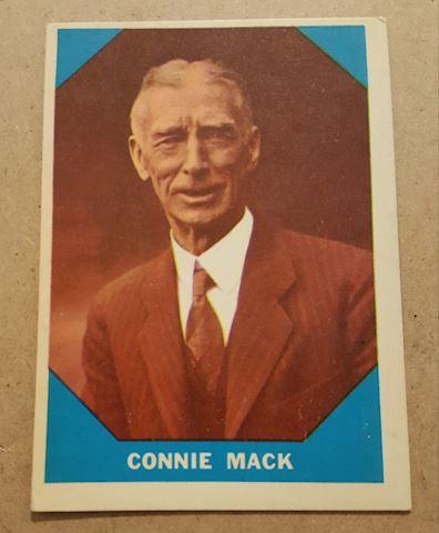 Old 1960 Connie Mack Baseball Great Card #14