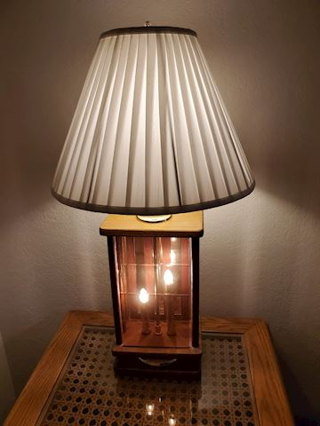 Lamp with Night Light Base