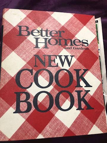 1969 better homes cookbook