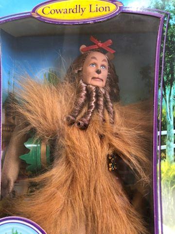Cowardly Lion Wizard of Oz Barbie Doll