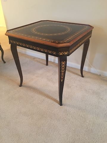 Italian Game table