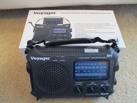 Voyager Crank Radio