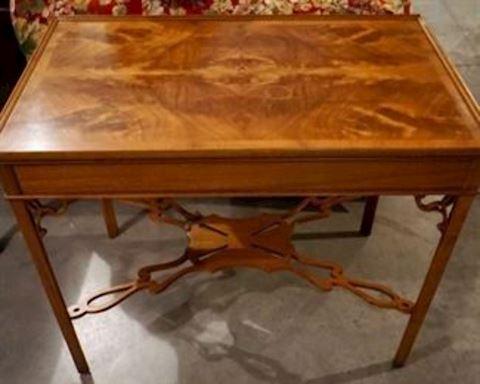 Flame Mahogany Side Table