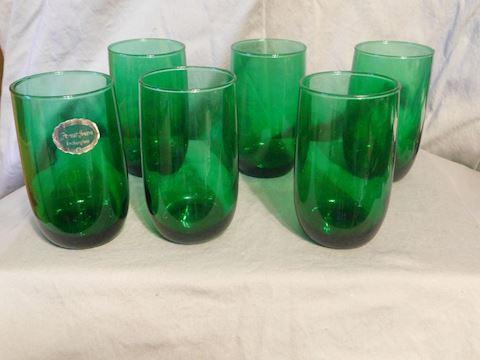 Six Water Tumblers