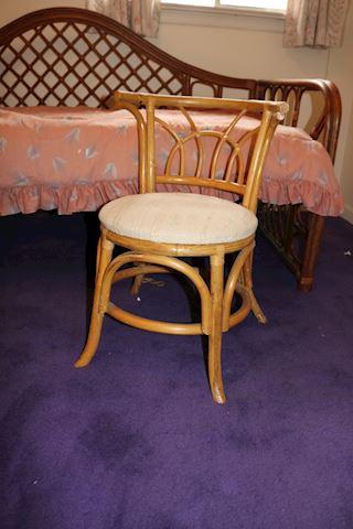 2 Rattan Cane Chairs