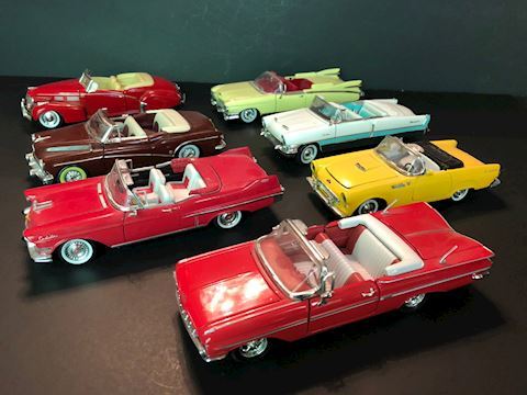Collectible Die Cast Cars - Lot I