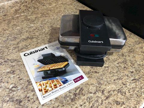Cuisinart Waffle Maker (model WMB-2)