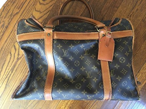 Authentic Louis Vuitton Pet Carrier