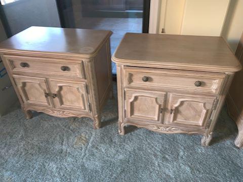 2 Drexel nightstands