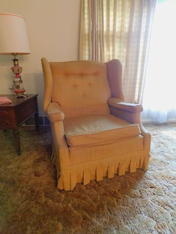 191 Vintage Solid Gold Chair