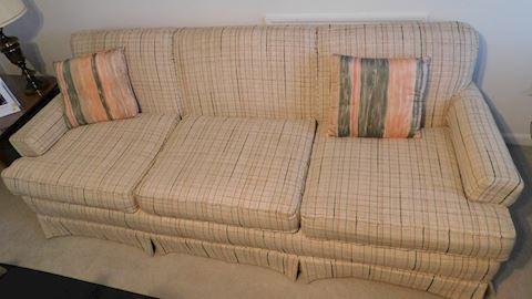 Tweed  3 Cushion Sofa